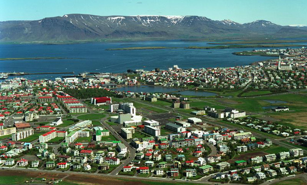 Reykjavik, en Islande