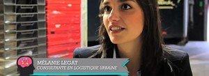 Mélanie Legat, consultante en logistique urbaine