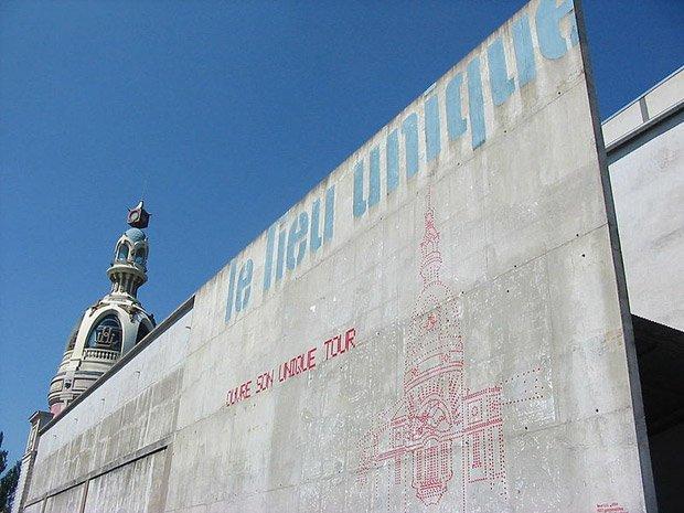 Le Lieu Unique à Nantes, un complexe culturel installé dans les anciennes usines LU. © Karim Gabou