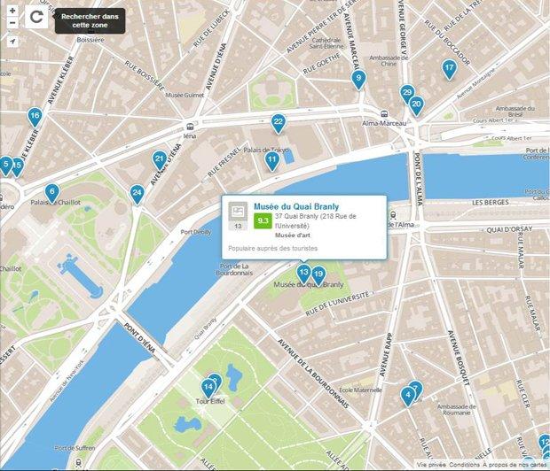 Le citadin-objet fait son check-in sur Foursquare. Crédits : Foursquare