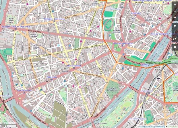 Le citadin-contributeur enrichit la carte OpenStreetMap de son quartier. Crédits : OpenStreetMap