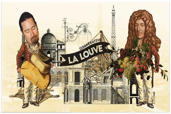 La Louve est un projet porté depuis 2010 par Tom Boothe et Brian Horihan, deux Américains vivant à Paris. Copyright : La Louve