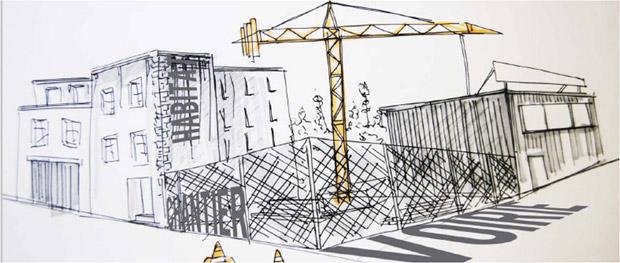 Comment révéler l'esthétique d'un chantier ? © Claire Chatelier