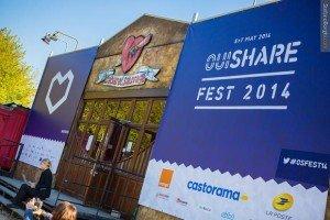 Comme en 2013, le Ouishare Fest était organisé au Cabaret Sauvage, à Paris.