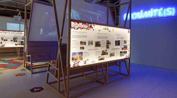 Exposition Proximité(s), à découvrir à la Cité de l'architecture et du patrimoine, à Paris. Crédits : Graphix Images