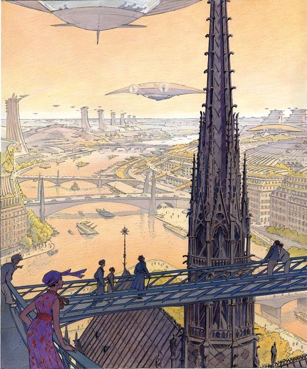 L'invention du Grand Paris, de François Schuiten (2009).