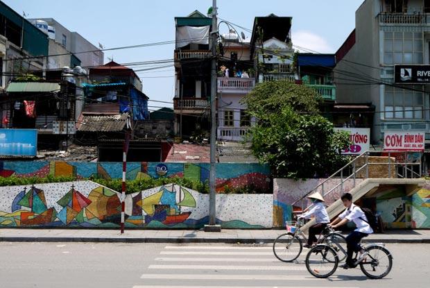 Ces maisons font partie intégrante du patrimoine de la ville d'Hanoï.