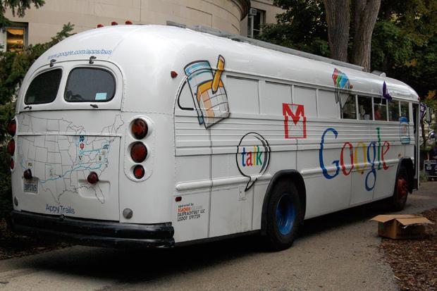 The Google Bus - Crédits : compte Flikr de Bradleypjohnson