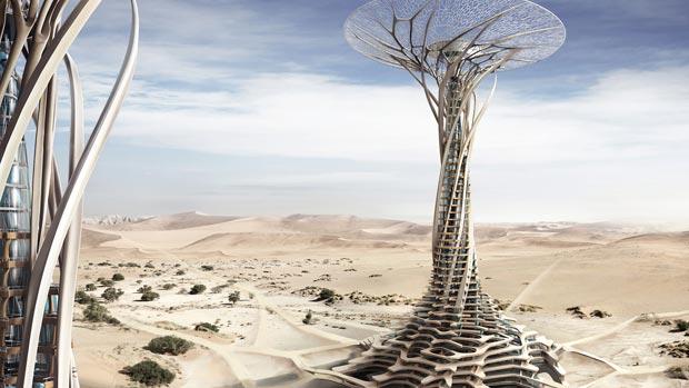 J'imprime ma maison dans le désert