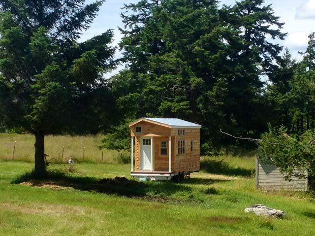 Les mini-maisons sur roues connaissent de plus en plus de succès.  Copyright : Humblehomes.com