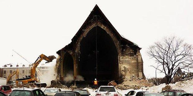 Église Saint-Sauveur - Montréal ; Crédits : Philippe Du Berger / Flickr