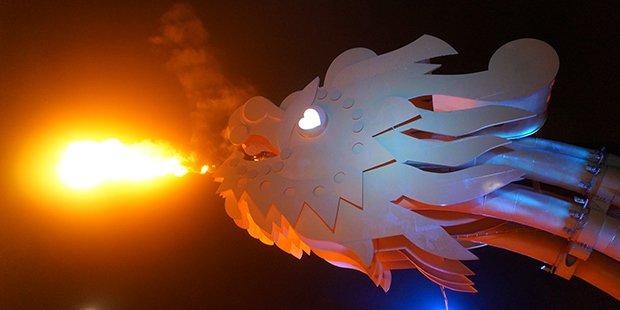 Eveil dragon - Danang ; Crédits : Clément Pairot