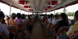 Bateau bus - Bangkok ; Crédits : Clément Pairot