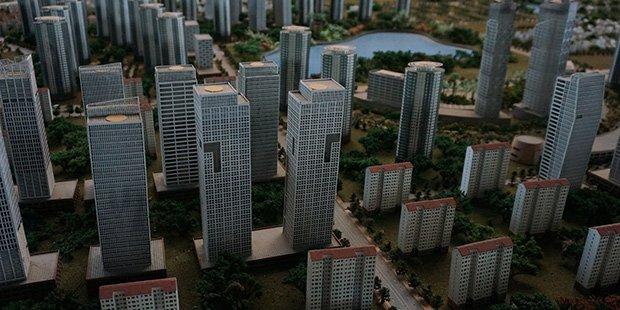 Maquette 2030 - Hanoi ; Crédits : Clément Pairot