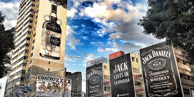 Tour publicités - Mexico ; Copyright : Keizers / Wikimedia