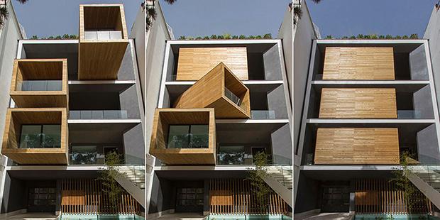 Sarifi-Ha House ; Copyright : Next Office