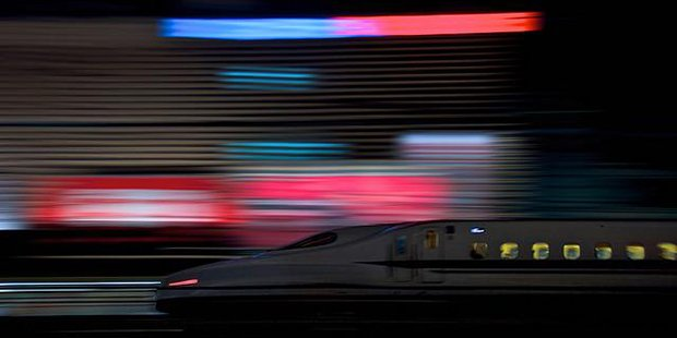 Shinkansen - Japon ; Crédits Shinichi Higashi / Flickr