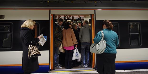 Train - Londres ; Copyright : Mattbuck / Wikimedia