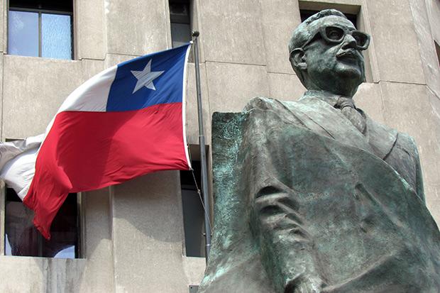 Sculpture Allende ; Copyright : David Berkowitz / marketsstudio / Wikimedia