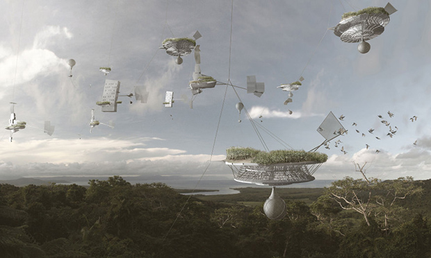 Cloud Skippers ; Copyright : Studio Linfors / A Visual History of the Future