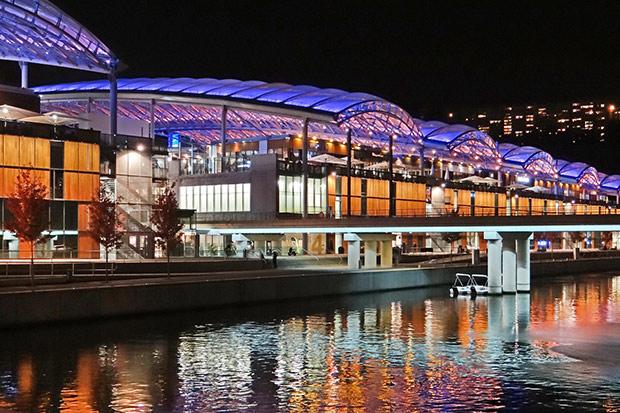 Pôle loisirs et de commerces - Lyon. Copyright : Jean-Pierre Dalbéra / Wikimedia