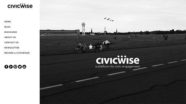 Plateforme CivicWise. Crédits : CivicWise