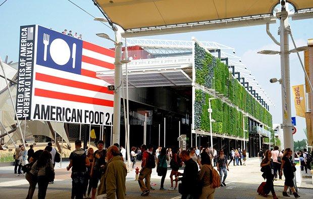 Pavillon Américain de l'Expo universelle Copyright : Expo 2015 / Daniele Mascolo
