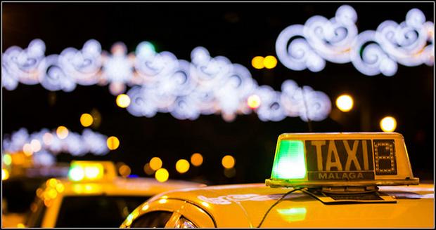 Taxi Malaga. Crédits : Marta Diarra / FlickR