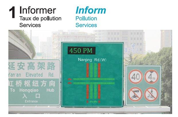 Flexibilité pour la ville intelligente. Crédits : Elia Collobert, Kévin Douet, Clément Guillot, Lucile Millard, Adèle Poirier - L'Ecole de design Nantes Atlantique
