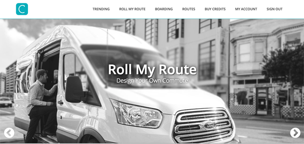 Roll my route ©RideChariot