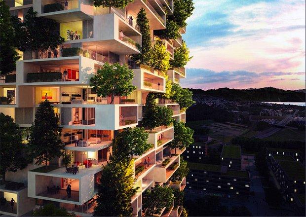 Les appartements de la future tour s'adressent plutôt à une clientèle fortunée. Copyright : Stefano Boeri Architetti