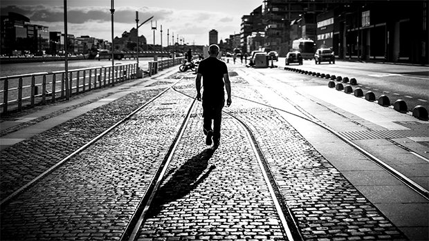 "Crédits : Giuseppe Milo - ""Walking"" (Dublin, Irlande)"