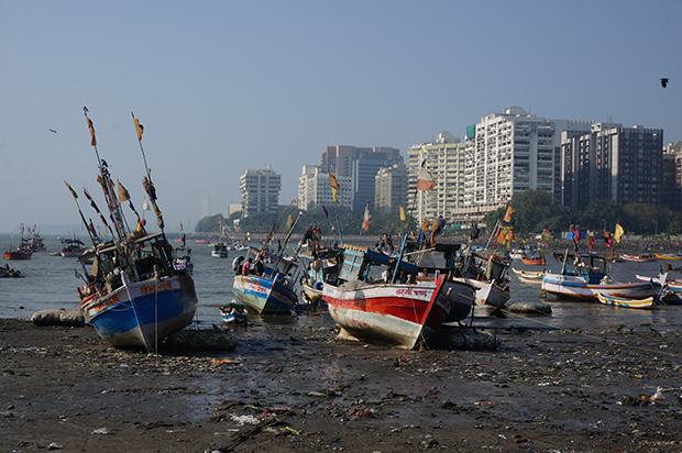 A Mumbai, des villages de pêcheurs perdurent au milieu du quartier des affaires © Clément Pairot