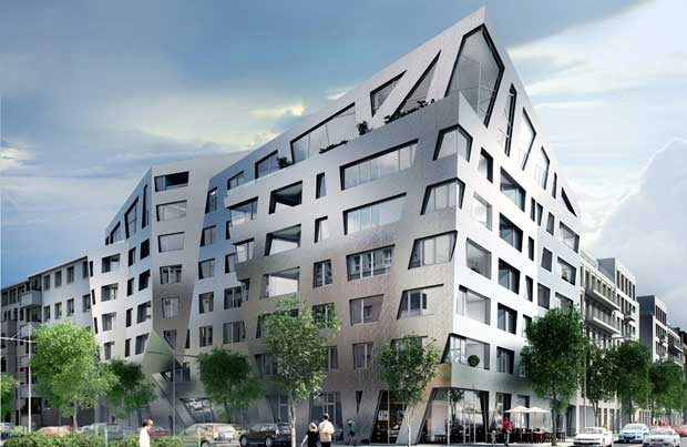 Après les tours à énergie positive, voici venir l'ère des buildings mangeurs de pollution © Daniel Libeskind