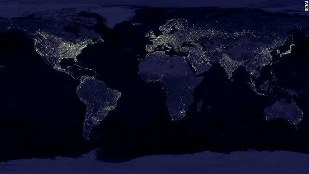 La nébuleuse urbaine et planétaire NASA