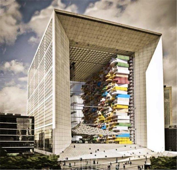 projet auto défense bâtiment