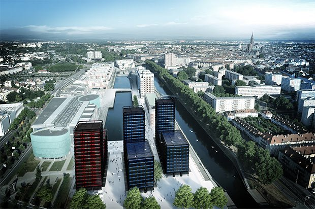 Black-Swans-Aerienne-Tramway-bâtiment