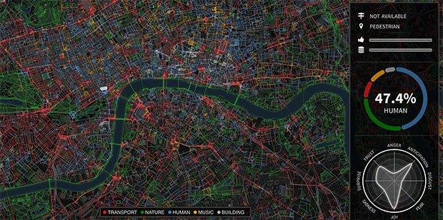 Capture d'écran de Chatty Maps Carte sonore de Londres