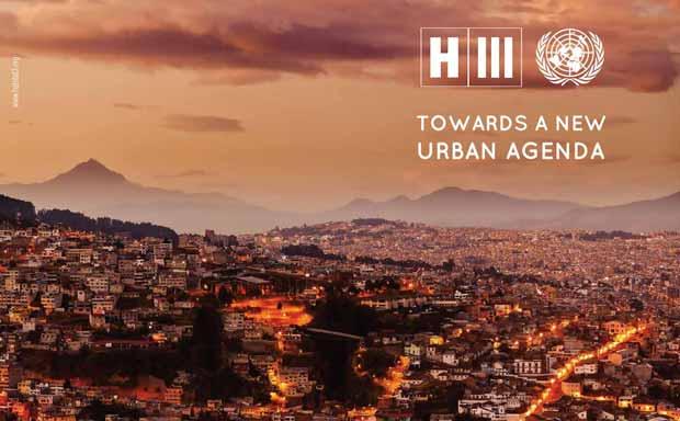 """Le principal objectif de cette conférence sera de redynamiser """"l'engagement mondial en faveur du développement urbain durable."""" © Habitat III"""