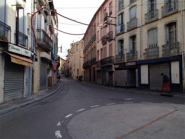 Perpignan n'échappe pas au phénomène de désertification des centres-villes © Hélène Bekmezian