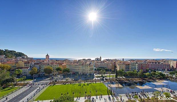 La Promenade du Paillon à Nice a reçu le Grand Prix du Jury et le Prix du Public en 2014. © Alain Issock