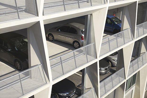 parking espace alveoles
