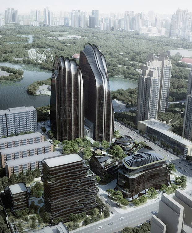 chaoyang park mad architects batiment