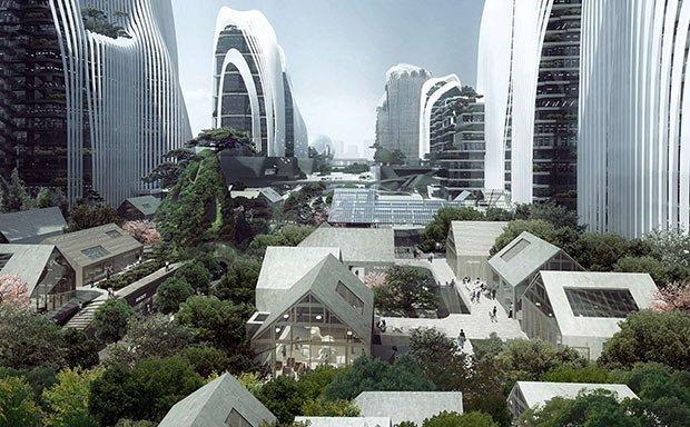 shanshui city mad architects batiment
