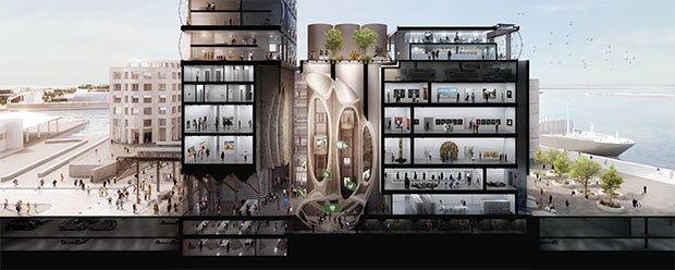 zeitzmocaa heatherwick studio musee batiment demain la ville amenagement urbain recyclage