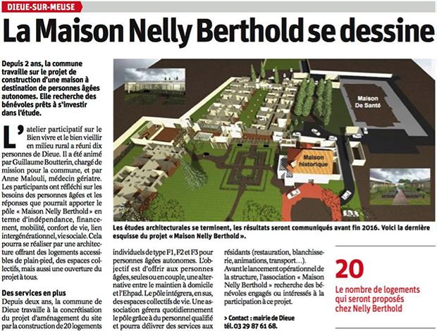 article presse maison nelly seniors