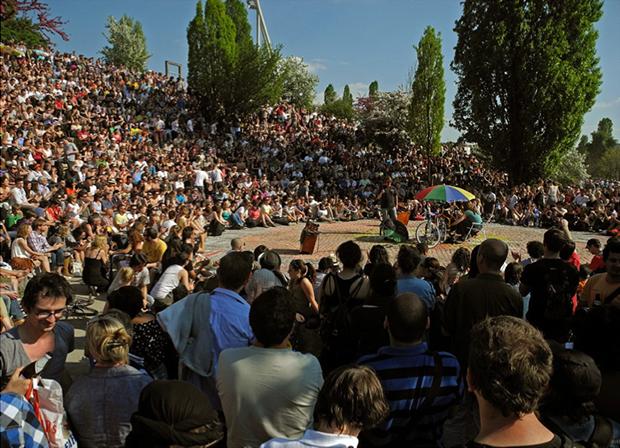 evenement culturelle rassemblement urbain