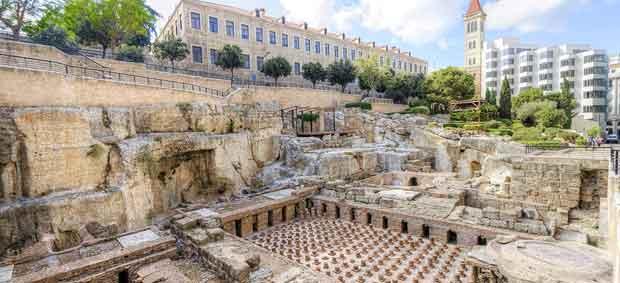 Beyrouth est une ville aux fondations antiques.