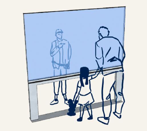 ecran interactif information transport