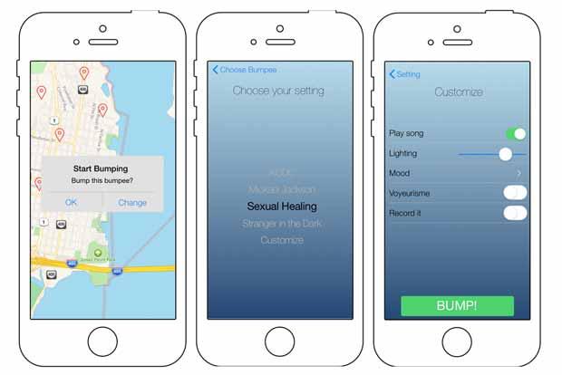 Hotspot est une application sur le harcèlement de rue proposée lors du premier Hackacon.